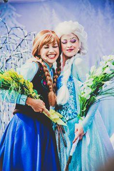 Anna & Elsa ❤️