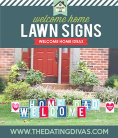 perfect for a welcome home banner | military | pinterest | banners