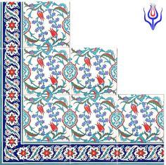 osmanlı çini duvar pano - gülser