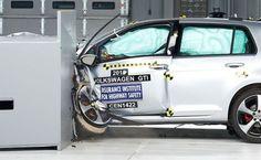 VW Golf alcança nota máxima nos rigorosos testes de colisão do IIHS