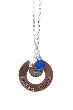Fishers Finery Navigational Charm Necklace