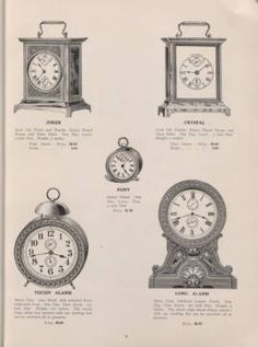 Catalogue, 1906-1907, Sept. 1, 1906 / Seth Thomas Clock Company :: Trade Catalogs