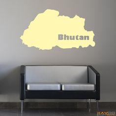 "Wandtattoo ""Bhutan"" - 9,95€"