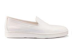Santoni   Tumbled calfskin slip on #SpringSummer15 #SantoniShoes