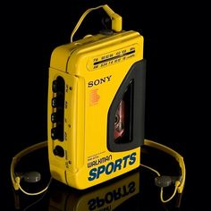 Sony Walkman... I still have this exact same one... WOW!!