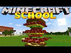 Minecraft School : DRAGONS AT THE SCHOOL! - YouTube