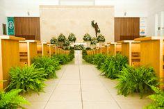 Los arreglos ecológicos son una excelente opción para las bodas verdes #wedding #green