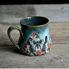 Glazes For Pottery, Pottery Mugs, Ceramic Pottery, Pottery Art, Ceramic Cups, Ceramic Art, Pretty Mugs, Cool Mugs, I Love Coffee