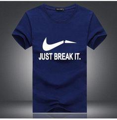 """Just Break It"" Summer Short Sleeve T Shirts Men's Tee"