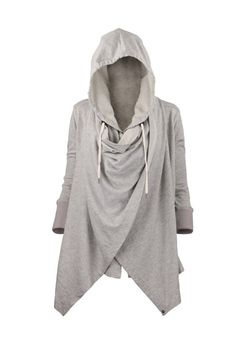 The Vogue Fashion: Naketano Side Zip Gray Hoodie | My style ...