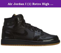 Air Jordan I (1) Retro High OG GS Black Gun light Brown 575441-020 US 3.5Y. These basketball shoes are of Nike Air Jordan collection. They impress with looks and comfort. A must-have for all sneaker fans and collectors. Ideal for sports and leisure!.