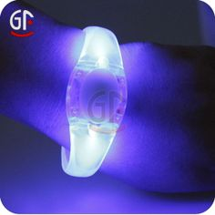 Sound Activated Light Up Bracelet Led Flashing Bracelet, View Sound Activated Light Up Bracelet Led Flashing Bracelet, GF Product Details fr...