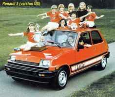 "Renault 5 - in the USA it became ""Le Car"""