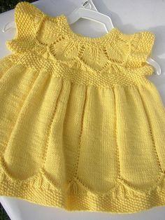 Kız Bebeklere Örgü Elbise Modelleri 127 - Mimuu.com