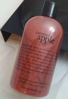 Philosophy Carmel Apple Shampoo, Shower Gel, and Bubble Bath 16 Oz #Philosophy
