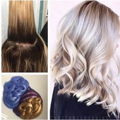 This client came in for a touch up but @constancerobbins killed the brass and gave a dose of fab! For the formula and how to, go to MODERNSALON.com and search Constance Robbins or just click on the link in our bio.