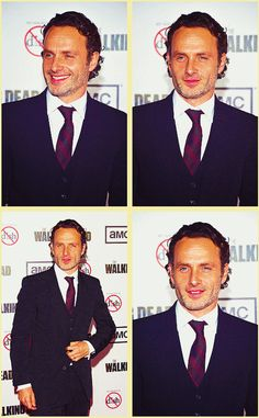 "Andrew Lincoln - AMC's ""The Walking Dead"" Season 3 Premiere. http://pinterest.com/yankeelisa/the-walking-dead-2/"