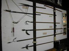 Weapons From the Ninja Museum (戸隠忍法資料館)(Togakushi Ninpo Shiryokan) in Nagano Japan