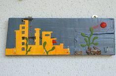 wall hanger Citty Wall Hanger, Handicraft, Objects, Handmade, Craft, Hand Made, Gift Crafts, Crafts, Hand Crafts