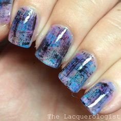 The Lacquerologist: Negative Space Dry Brush