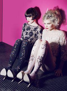 Sparkle tights/embellished leggings