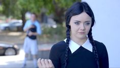 If you thought Wednesday Addams was a riot as a kid, wait until you meet Adult Wednesday Addams!
