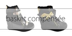 Les chaussures compensées est l'un des must-have en cette saison.  Cette basket tendance doit être accordée à d'autres pièces phares de cette année : veste en fourrure, chemise à carreaux, slim façon cuir…. Pour un look décontracté et en vogue on choisit des couleurs neutres comme le noir, le taupe, le bleu marine afin de donner un air chic à vos tenues. Pour les plus téméraires d'entre vous, on opte pour des chaussures plus colorées ou à imprimé. Toutefois attention aux fashion faux-pas, on…