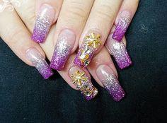 Miles de Diseños de Uñas: Diseños de uñas color Lila