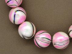 FUN and FABULOUS Swirl 12mm swirl beads CHOOSE by MissysTreasurez, $4.00