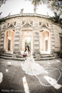 Another wedding teaser for Marcia Nash! She looks beautiful at Vizcaya Museum and Gardens <3  In addition to weddings we photograph quinces/sweet 16's, maternity, babies, kids, engagement shoots, family portraits, and more!  For more information visit our website: www.WeddingPhotographyByLiam.com  #miami #photographers #wedding #bride #groom