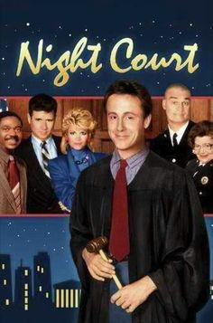 "Night Court (1984–1992) - Judge Harold T. Stone presides over ""Night Court"", a court which deals with petty crimes which can be dealt with in a dime-a-dozen manner. Invariably, the cases appearing before the court are bizarre, but that's ok because Judge Stone is not your regular judge. He's assisted by a motley crew of clerks and District Attorneys who often create as much chaos as the criminals they bring in for trial."