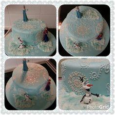 Frozen cake.  www.thepurplewhisk.co.uk
