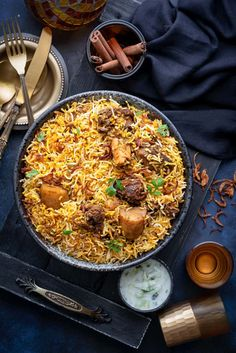 Best Mutton Biryani-A Dish That Is Spiced With Fragrant Layers Of Biryani Rice And Juicy, Tender Mutton And Masalas. The most effective method to Make Mutton Biryani Recipe Step By Step At Home. Best Mutton Biryani Recipe, Lamb Biryani Recipes, Beef Biryani Recipe, Cooking Recipes, Healthy Recipes, Rice Recipes, Dinner Recipes, Beef Recipes, Cooking Tips