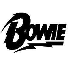 David Bowie Vinyl Decal Sticker Logo Music Rock Laptop Tablet Wall Window