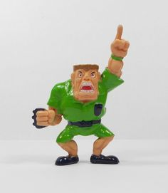 Monster Wrestlers In My Pocket - W39 Referee Nelson - Mini Toy Figure