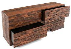 Raw Wood Furniture, Contemporary Rustic, Eco-Friendly Decor
