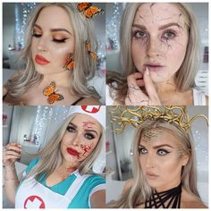 Some of the Halloween tutorials I have filmed so far! #Shaaanxo