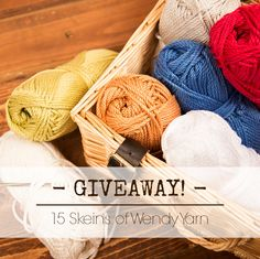 15 Skeins Of Yarn Giveaway with LoveCrochet!