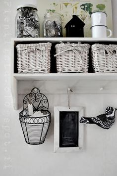 kitchen or anywhere for cute storage :)