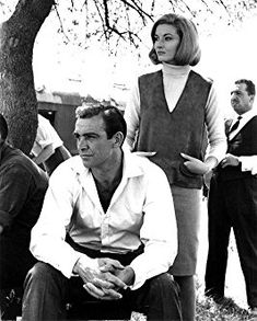 Sean Connery and Daniela Bianchi in From Russia with Love (1963)