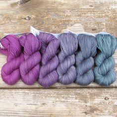 Carmen - Gradient Set | Miss Babs Hand Dyed Yarns & Fibers, Inc.. Damn, you pretty