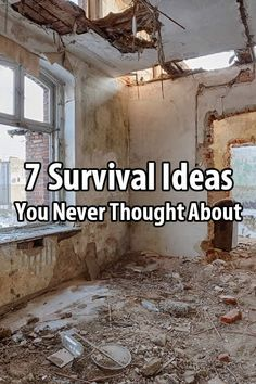 I really enjoyed this article I found on @suburbanstead. The author lists 7 survival ideas that might not have occurred to you.