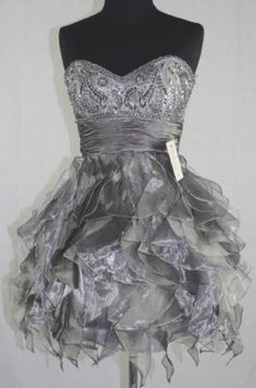 #Zeilei 5866 #Short #Strapless #Sweet16 #Babydoll #PartyDress #Bridesmaid #Cocktail #Ball #Evening #Engagement #Graduation #Birthday #PartyDress