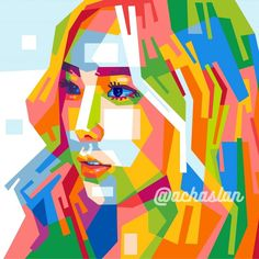 """TaeYeon 태연  ❤  , #wpap # indonesia #popart #portrait #vector #digitalart #digiart #fanart #taeyeon #snsd #taeyeonfanart #taeyeonsnsd #ngalamuncurve…"""