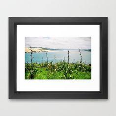Opononi Framed Art Print by David Hernández-Palmar - $32.00