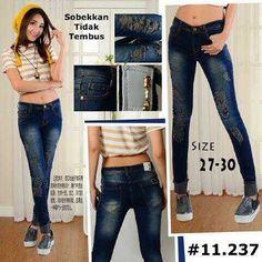 """""Ripped jeans RIJ 11237 Material: soft jeans Harga: 135 Size: 27-30 Order PIN CS1-5A1F32FA PIN CS2-5FI5DE72 & SMS/WA 087722-575-101  Reseller & Dropship Welcome!  Happy Shopping! :) #jamtangan #jamtanganwanita #jammurah #grosirjam #sweatercouple #flatshoes #jamtanganterbaru #resellerjamtangan #taswanita #sneakerscwe #celanajeansripped #jamtanganartis #olshop #wedgesterbaru #jaketjeans  #resellerwelcome #celanajeans #sepatubandung #celanajeanshw"