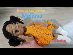 Crochet Toys, Hats, Youtube, Flora, Bb, Crocheted Toys, Amigurumi Doll, Eyes, Hair