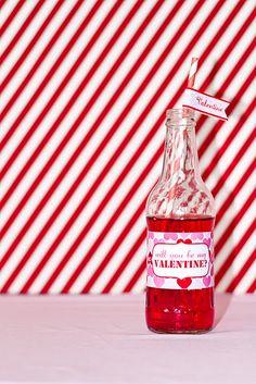 drink labels for V'day