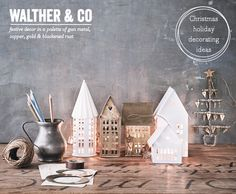 Bright.Bazaar: Walther & Co: Danish Christmas Decor Ideas