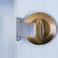 deadbolt secure ensures that the knob on a deadbolt cannot be turned from the outside regardless of bump keys, lock picking tools, or event a stolen, working key.